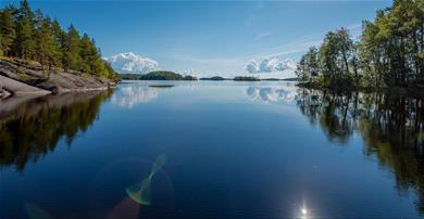 Why Finland and Lake Saimaa?