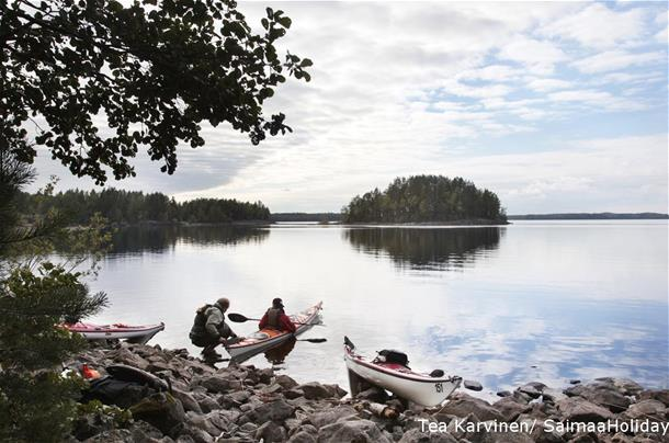 2 day Kayaking tour in Linnansaari National Park